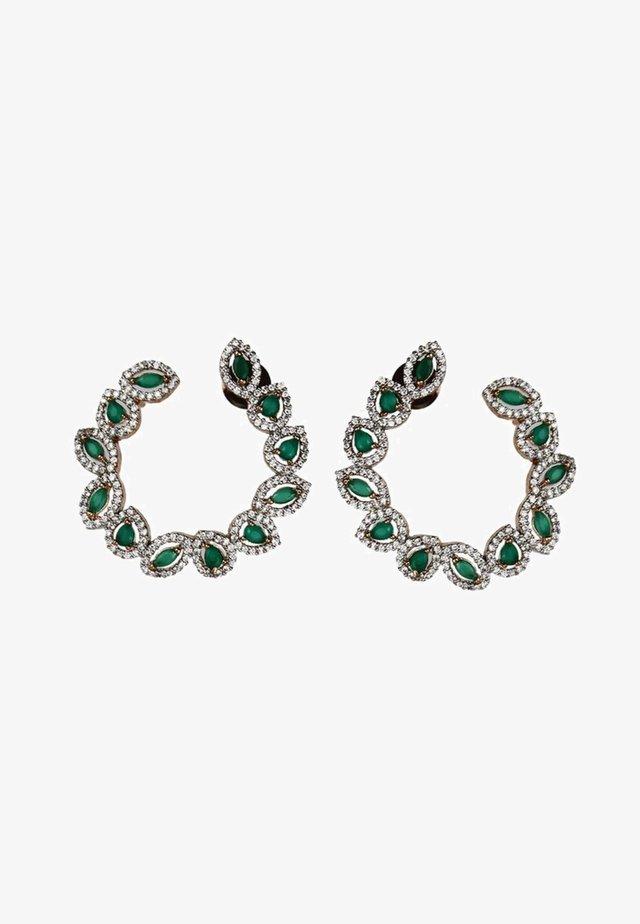 Boucles d'oreilles - green
