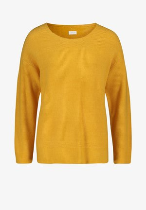 STRICKPULLOVER MIT  - Jumper - yellow leaves