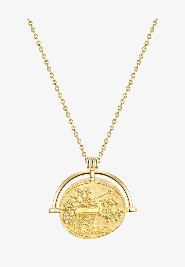 COIN GLOSS - Necklace - gelbgold