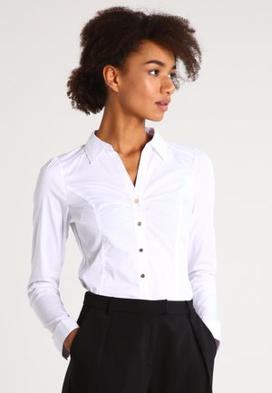 CARAM - Button-down blouse - blanc