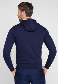 Lacoste Sport - HERREN SWEATJACKE-SH7609 - Mikina na zip - navy blue/silver chine - 2