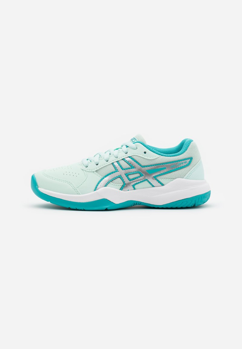 ASICS - GEL-GAME - Clay court tennis shoes - bio mint/pure silver