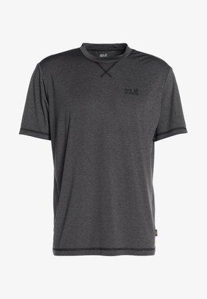 CROSSTRAIL MEN - T-shirt basic - dark steel