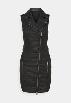 D-ACICO-NE DRESS - Shift dress - black