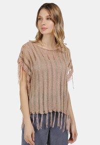 usha - Print T-shirt - rosa - 0