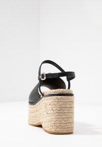 Topshop - WAKE - Sandály na vysokém podpatku - black - 5