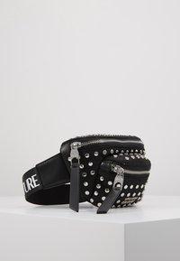 Versace Jeans Couture - STUDDED BUM BAG - Bum bag - black - 4