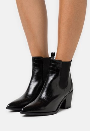 MANILA - Boots à talons - black