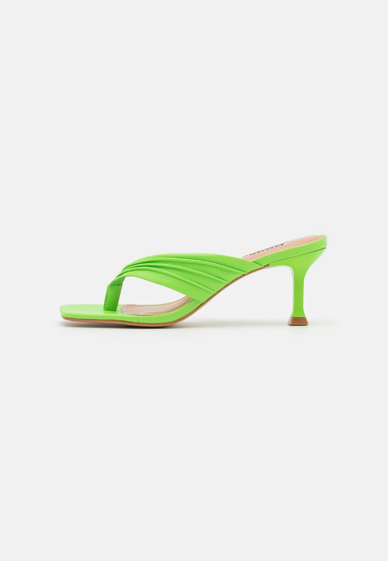 Dune London - MARBELLE - Sandály s odděleným palcem - green