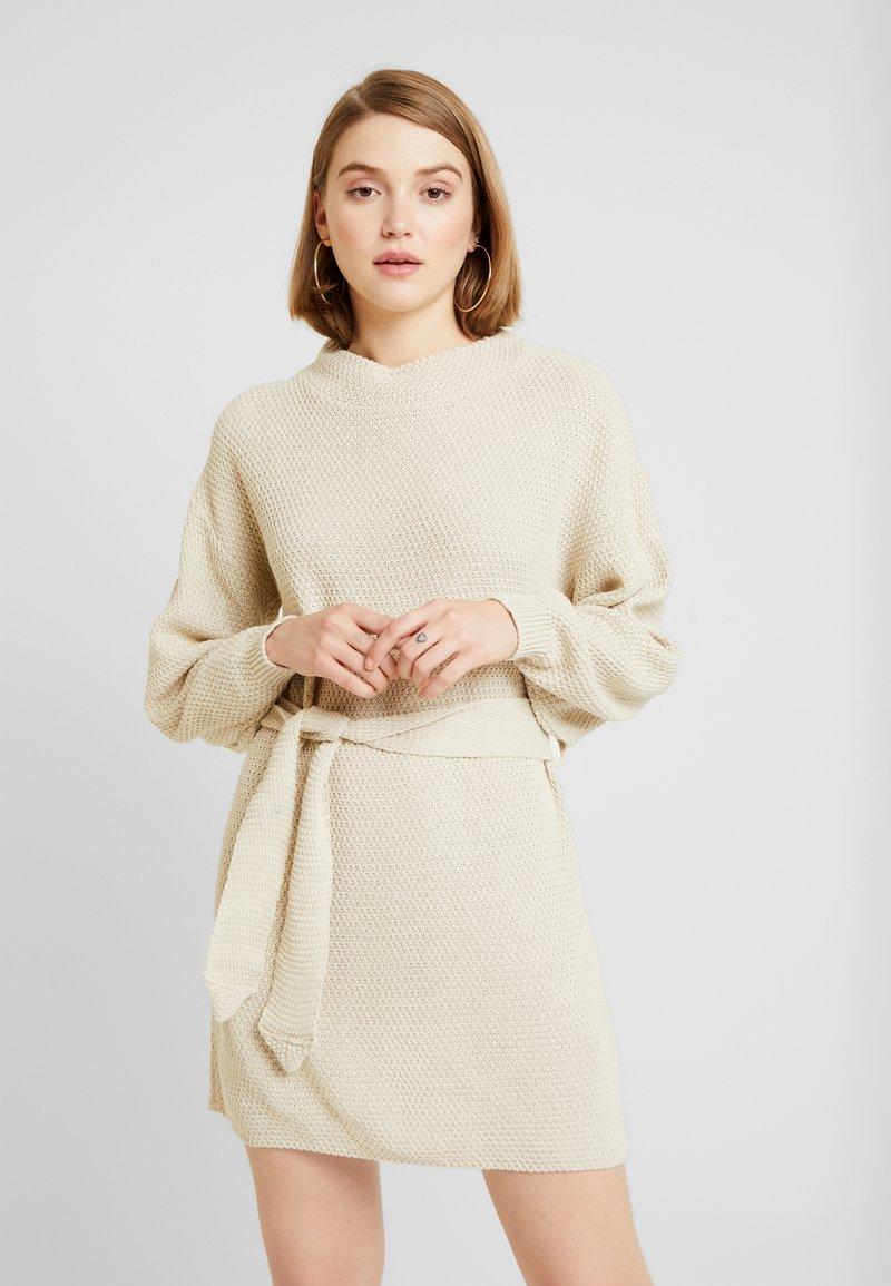 Glamorous - Gebreide jurk - ecru