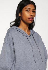 BDG Urban Outfitters - ZIP THROUGH HOODIE - Huvtröja med dragkedja - pacific blue - 3