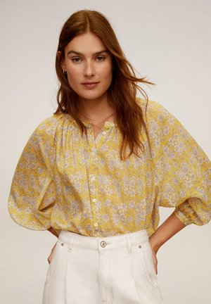 JUNGLE - Bluse - geel