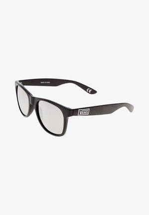 SPICOLI - Okulary przeciwsłoneczne - matte black/silver mirror