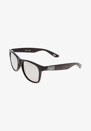 MN SPICOLI 4 SHADES - Solglasögon - matte black/silver mirror