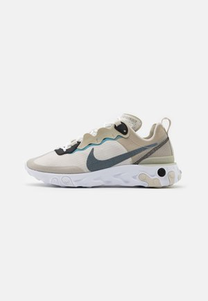 REACT 55 RETRO UNISEX - Trainers - stone/cerulean/light bone/black