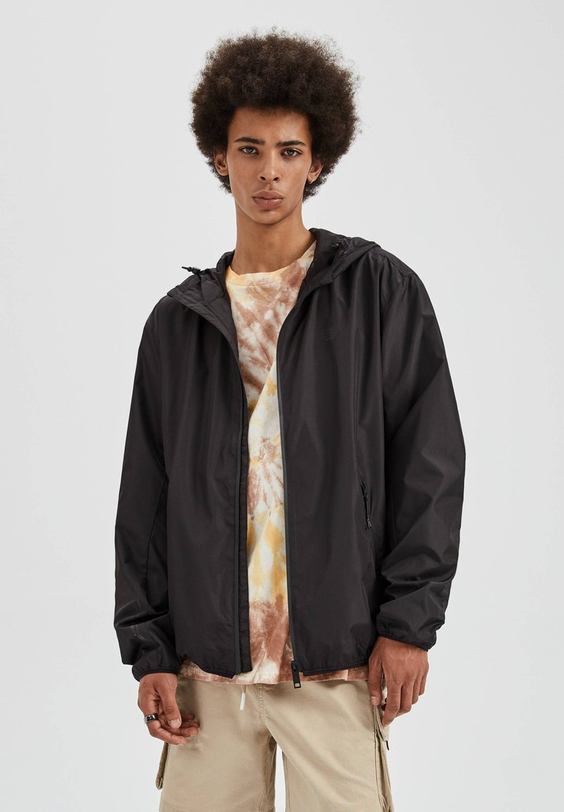 PULL&BEAR - Outdoor jacket - black