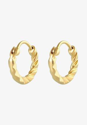 HOOPS SMALL - Korvakorut - gold