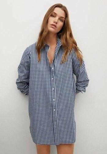 Skjortebluser - dunkles marineblau