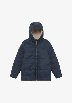 BOYS' REVERSIBLE READY FREDDY HOODY - Winter jacket - new navy