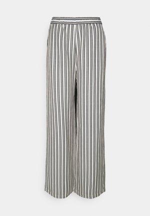 VALERY PANTS - Bukse - beige/black