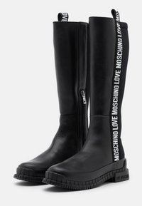 Love Moschino - STREET LOVE - Boots - black - 2