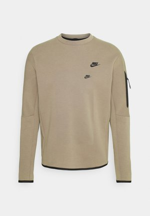 Sweatshirt - taupe haze/black
