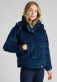 Lee - Winter jacket - washed blue - 0