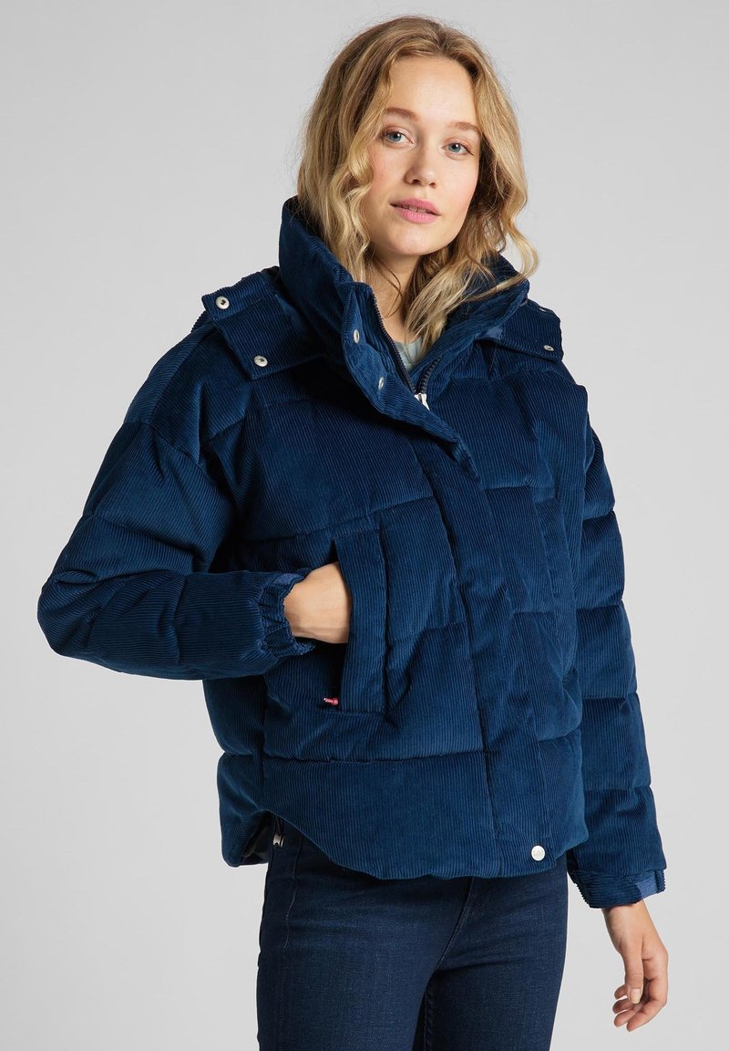 Lee - Winter jacket - washed blue