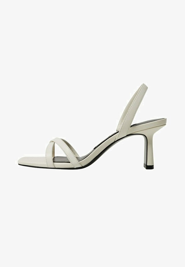 GOING - Sandals - blanc cassé