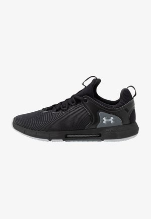 UA HOVR RISE 2 - Sports shoes - black/mod gray