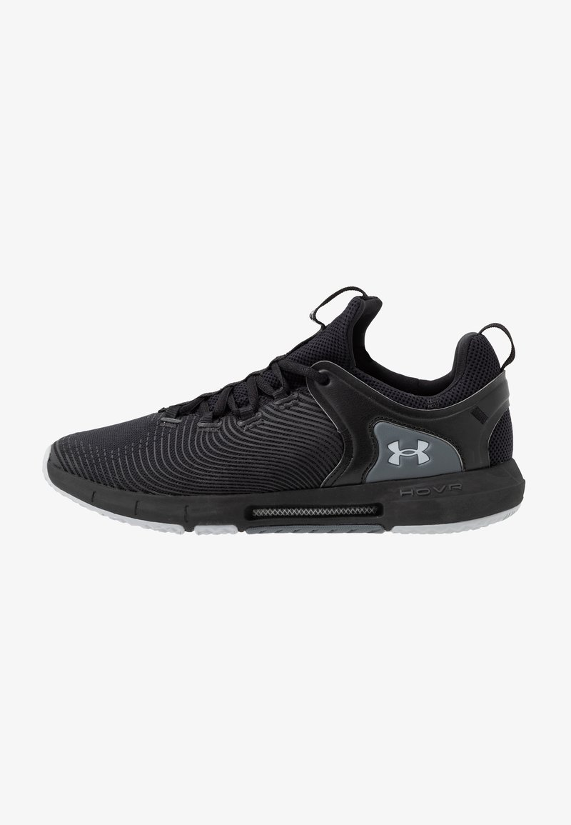 Under Armour - HOVR RISE  - Trainings-/Fitnessschuh - black/mod gray