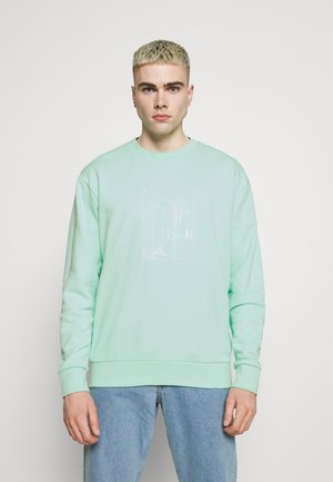 GRAPHIC CREW - Felpa - clear mint