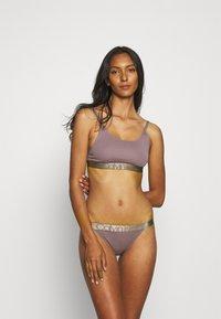 Calvin Klein Underwear - BRALETTE - Top - plum dust - 1