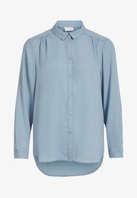 Vila - Button-down blouse - ashley blue - 0
