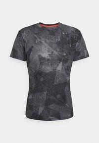 Mizuno - AERO TEE - Sports shirt - black - 0