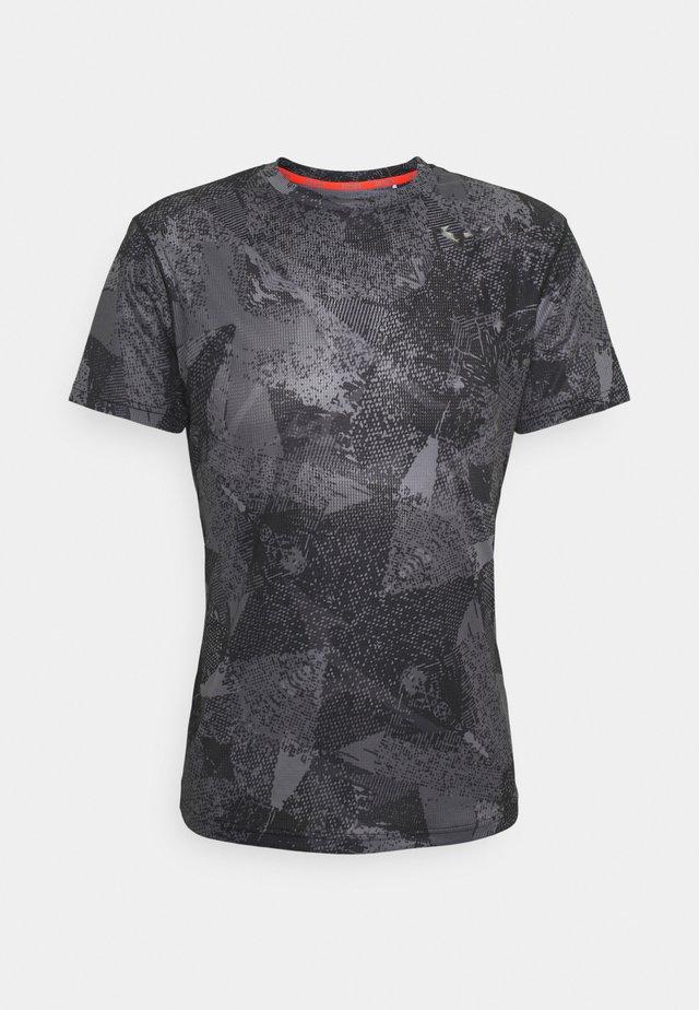 AERO TEE - T-shirt sportiva - black
