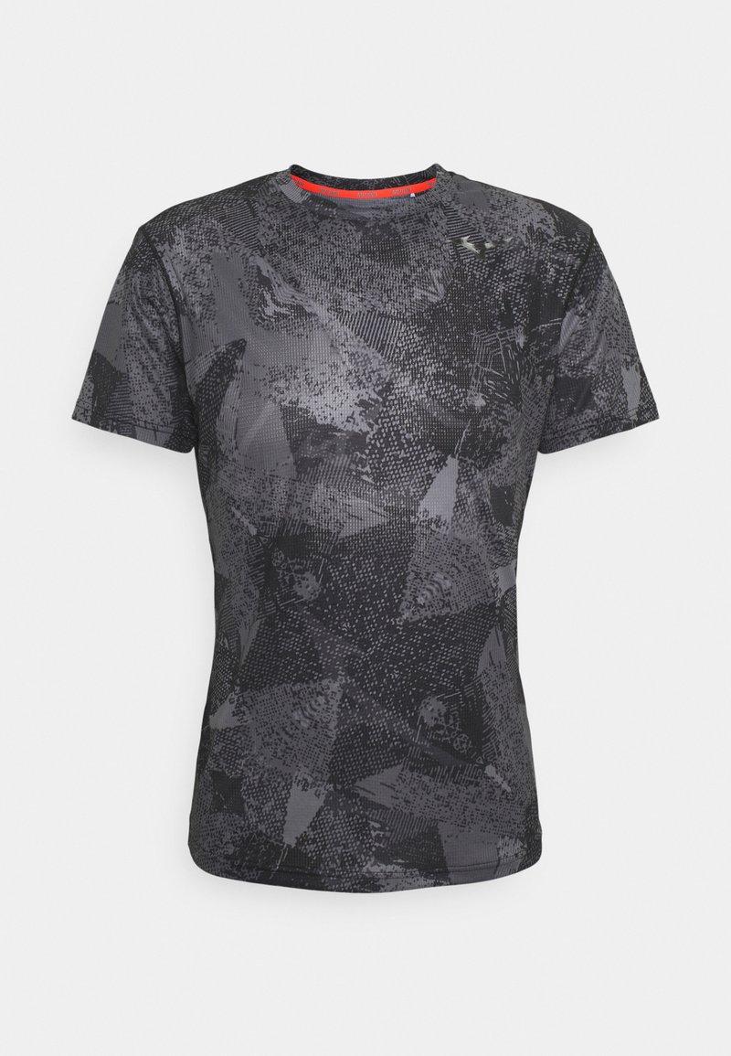 Mizuno - AERO TEE - Sports shirt - black
