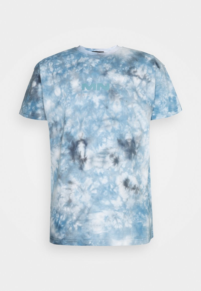 Mennace - BREEZE TIE DYE REGULAR UNISEX - Print T-shirt - light blue