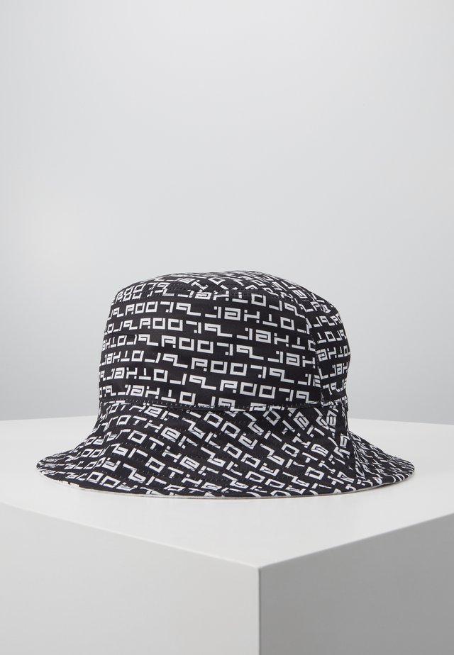 BRADY4 BUCKET HAT  - Hatt - black/white