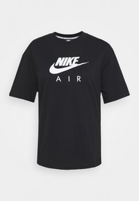 Nike Sportswear - AIR TOP  - Camiseta estampada - black/white - 3