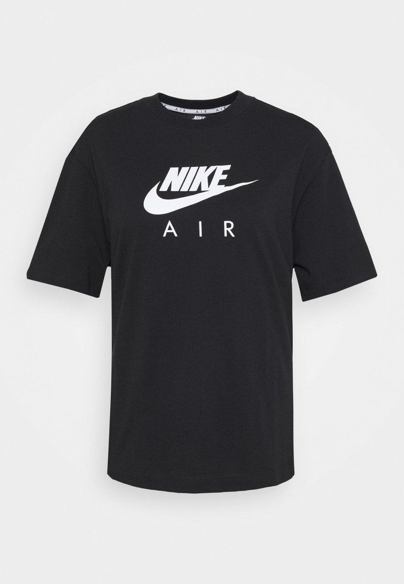Nike Sportswear AIR TOP - T-Shirt print - Cactus Flower/White/pink jMeoUe
