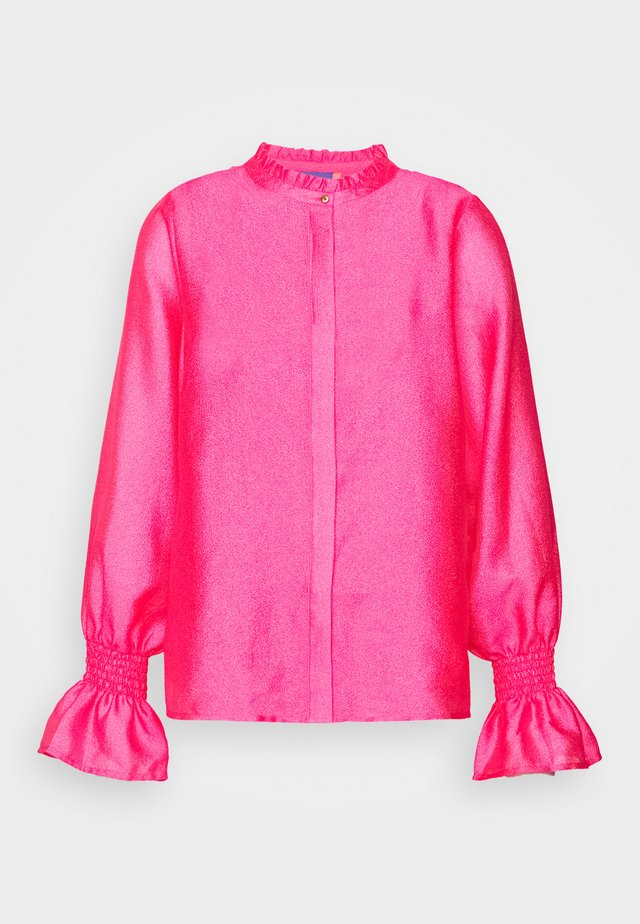 JOYCRAS - Button-down blouse - magenta