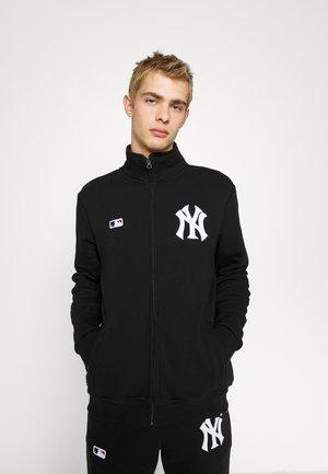 NEW YORK YANKEES CORE ISLINGTON  - Sweater met rits - jet black