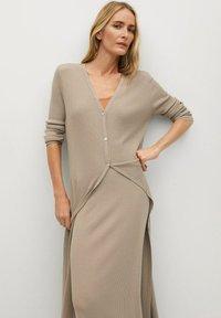 Mango - CANE-A - Jumper dress - lyst/pastell grå - 2