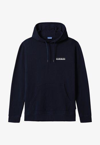 B-SURF HOOD - Hoodie - dark blue