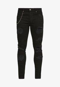 Brave Soul - MJN DROGO - Jeans Skinny Fit - charcoal wash - 4