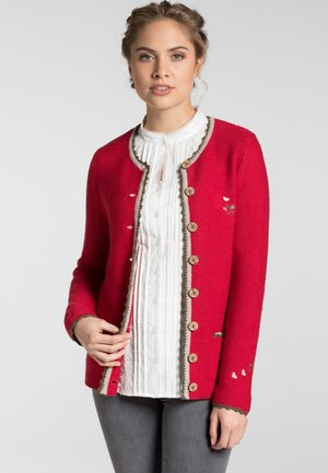 MOSEL - Cardigan - red