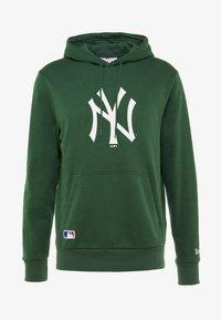 New Era - MLB NEW YORK YANKEES SEASONAL TEAM LOGO HOODY - Club wear - green - 5