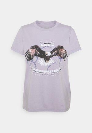 EAGLE TEE - Print T-shirt - lavender dusk