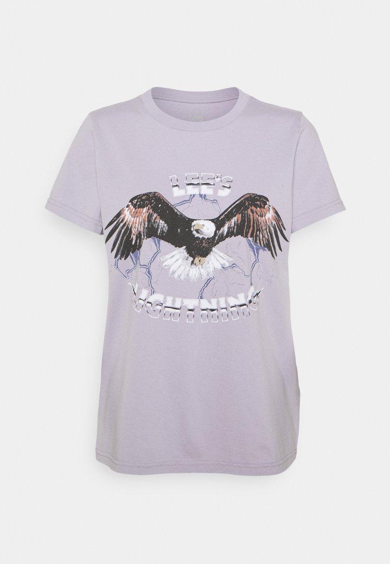 Lee - EAGLE TEE - T-shirt imprimé - lavender dusk